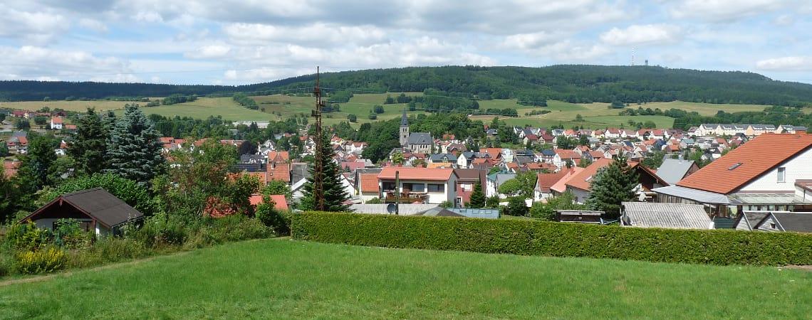 Ferienhaus am Rennsteig mit Ausblick